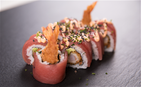 Foto Red Dragon roll