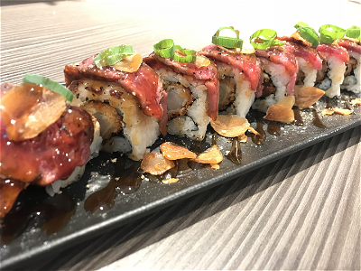 Foto Beef Dragon Roll